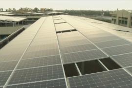 Тюремную крышу превратили в солнечную электростанцию