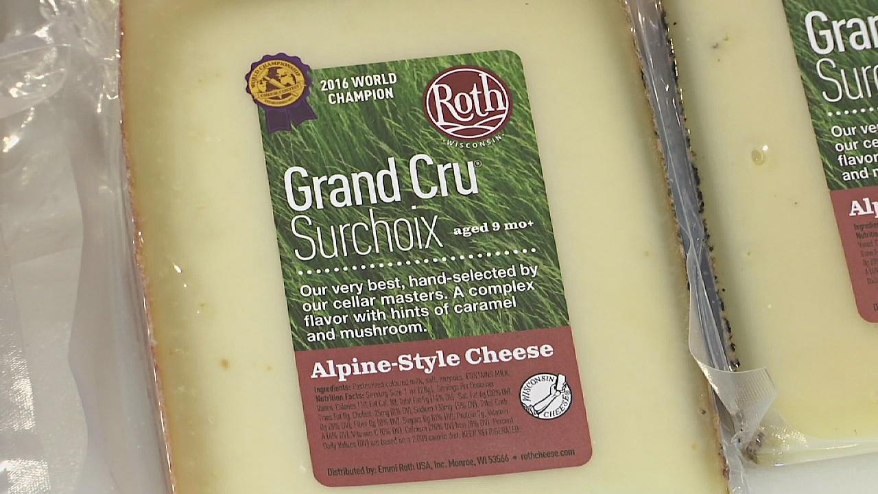 Лучшие производители сыра соревнуются в Висконсине