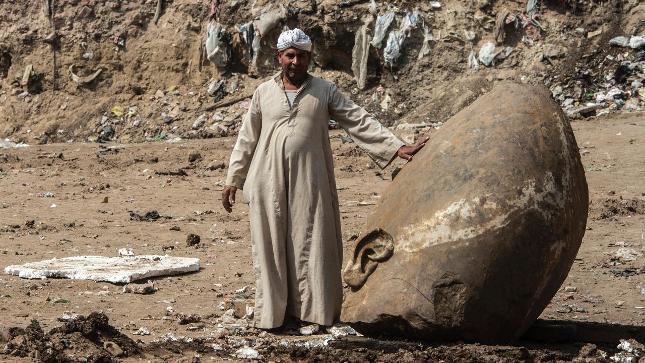 В Египте нашли обломки статуи Рамзеса II