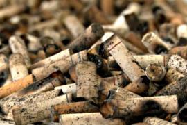 В Бразилии из сигаретных окурков делают бумагу