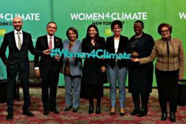 Женщины-мэры решают проблемы изменения климата