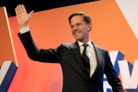 На выборах в Нидерландах победила партия премьера