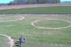 Кто нанёс на траву в поле круги идеальной формы?