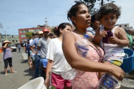 Наводнения в Перу: в Лиме выстроились длинные очереди за водой