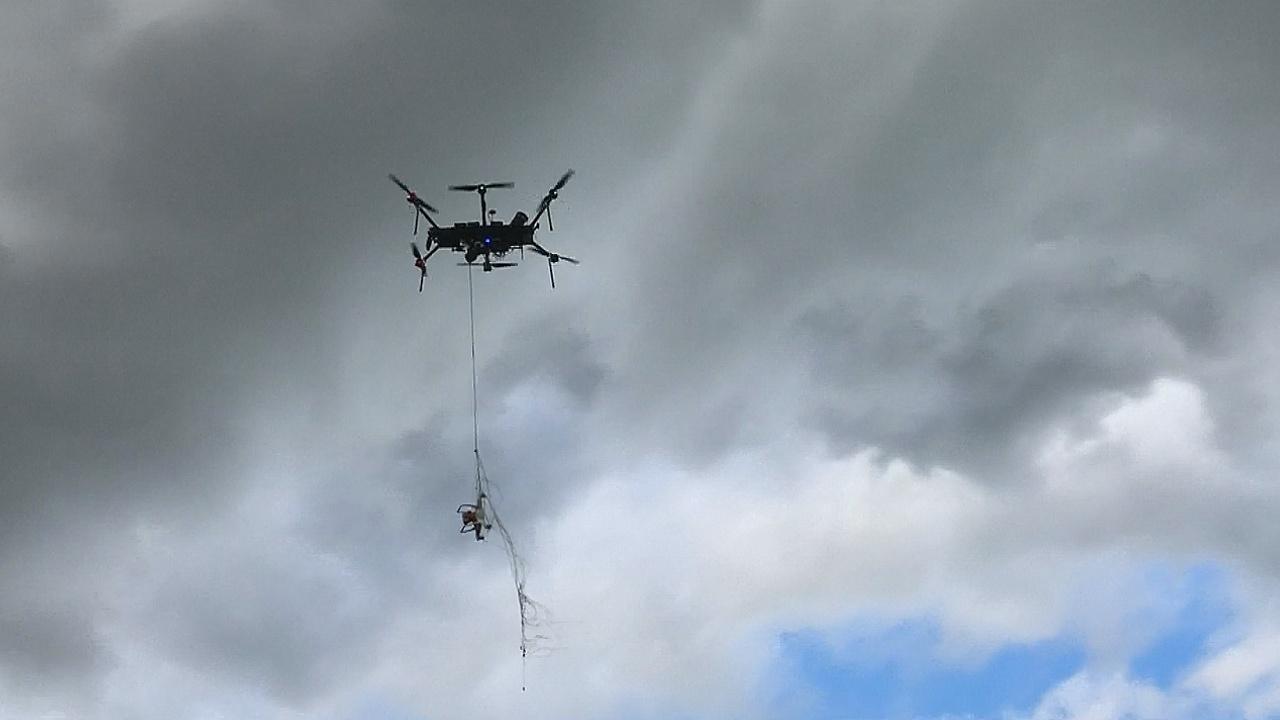 Дроны-перехватчики защитят от беспилотников-нарушителей