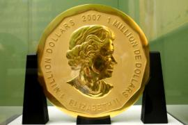 Из музея в Берлине украли золотую монету весом 100 кг