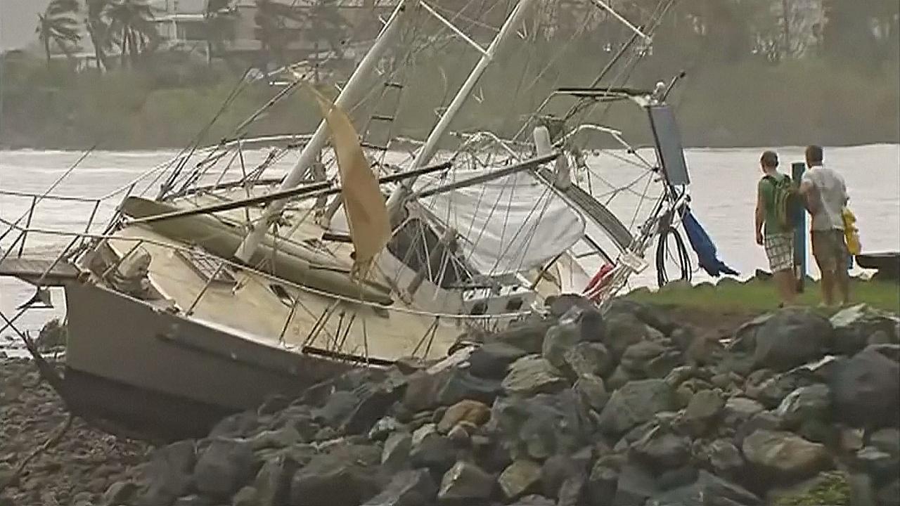 Австралийцы оценивают ущерб после циклона «Дебби»