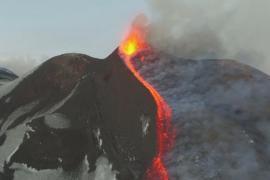 Дроны и тепловизоры помогают изучать вулкан Этна
