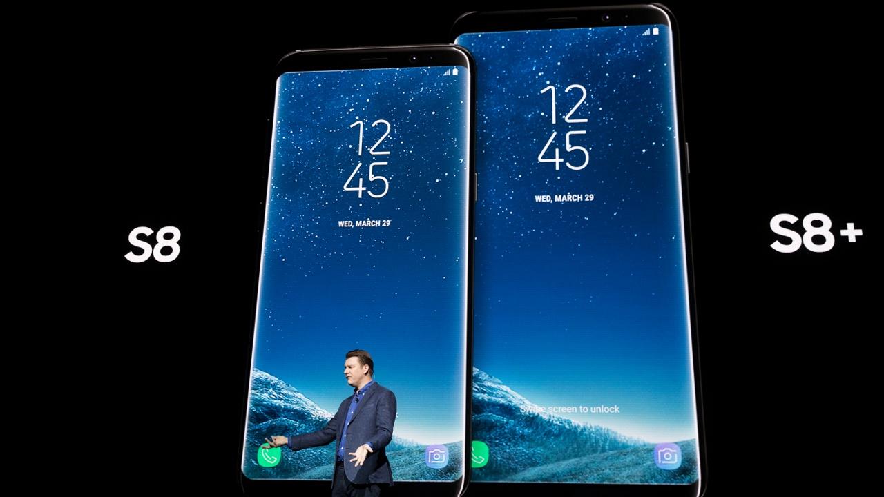 Samsung презентовал новый Galaxy S8