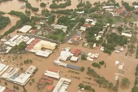 В Австралии затопило целые города