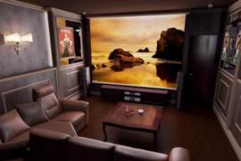 Домашний кинотеатр для загородного дома