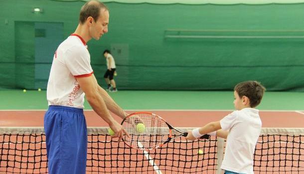 Воспитание будущих мастеров большого тенниса