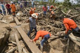 Селевой поток в Колумбии: более 250 погибших
