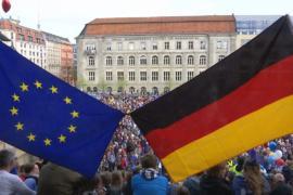 За единую Европу выступили тысячи граждан Германии