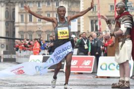 Римский марафон: «золото» у эфиопских бегунов