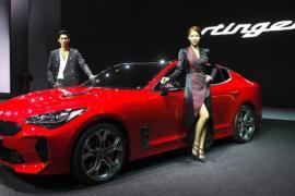 Kia представила спорткар Stinger на автосалоне в Сеуле