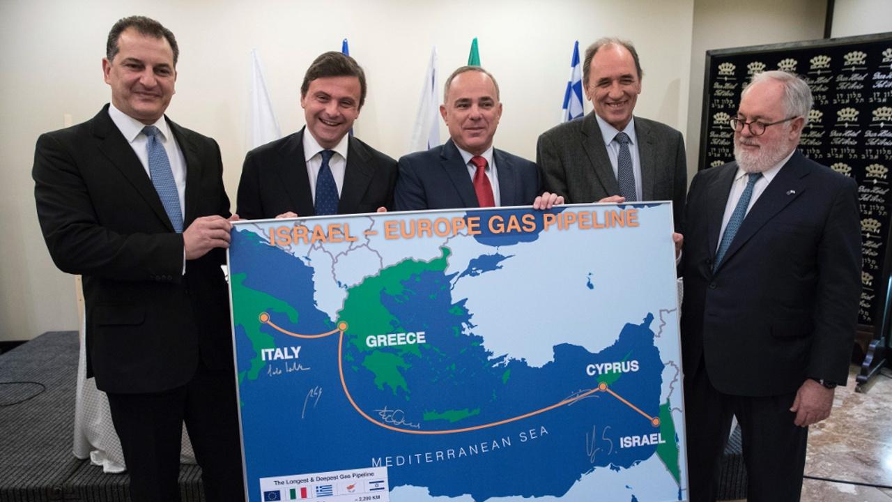 Израиль будет поставлять природный газ в Европу