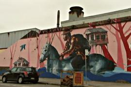 Уличные картины оживляют городской пейзаж Сиднея