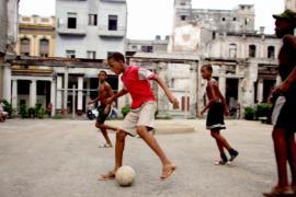 Футбол помогает воспитывать кубинскую молодёжь