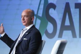 Безос продаёт акции Amazon, чтобы спонсировать Blue Origin