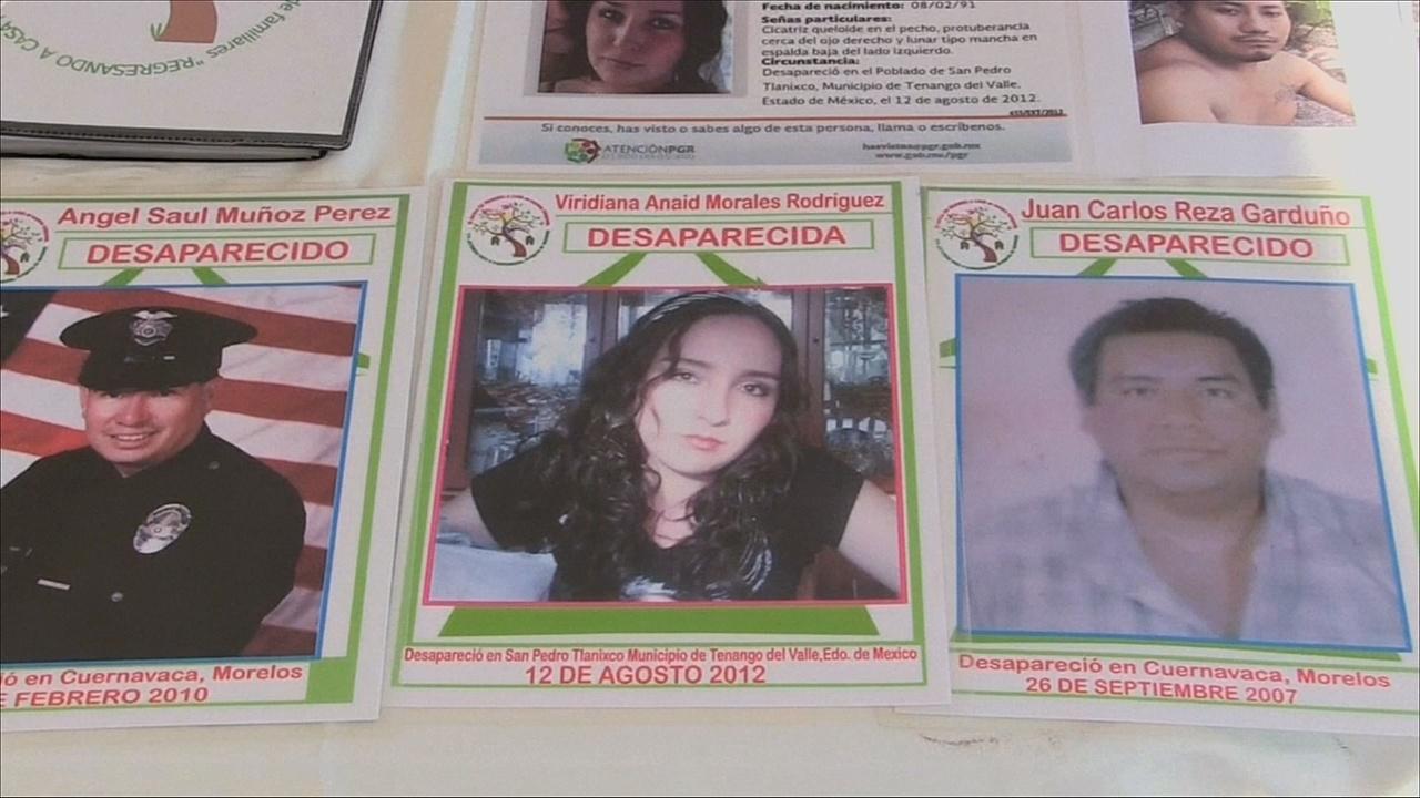 В Мексике — 30 тысяч пропавших без вести