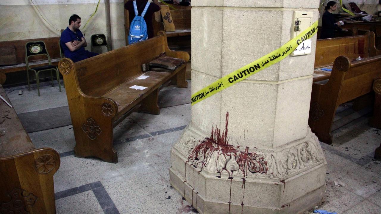 Взрывы в христианских храмах в Египте: 44 погибших