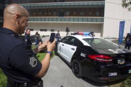 Ford представил первый гибридный автомобиль для полиции