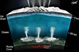 НАСА: на Энцеладе могла зародиться жизнь