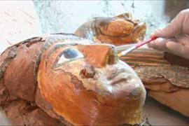 Египетские археологи показали новые находки в Луксоре