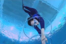В бассейне в Италии можно нырнуть на глубину 42 метра
