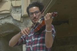 Музыка – против войны: скрипач дал концерт в Мосуле