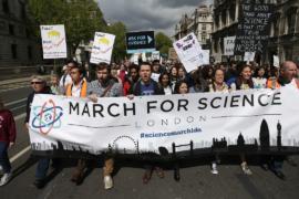 В Международный день Земли прошли марши в поддержку науки