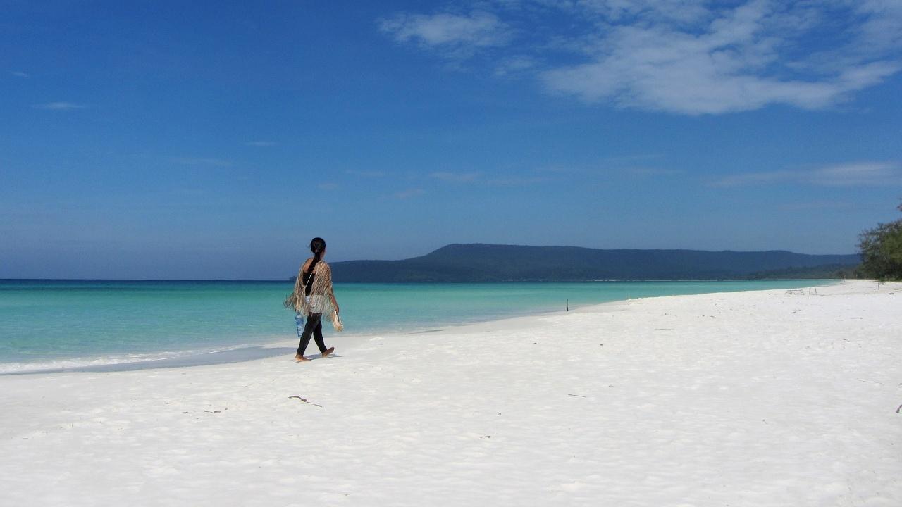 Камбоджийские тихие пляжи привлекают всё больше отдыхающих