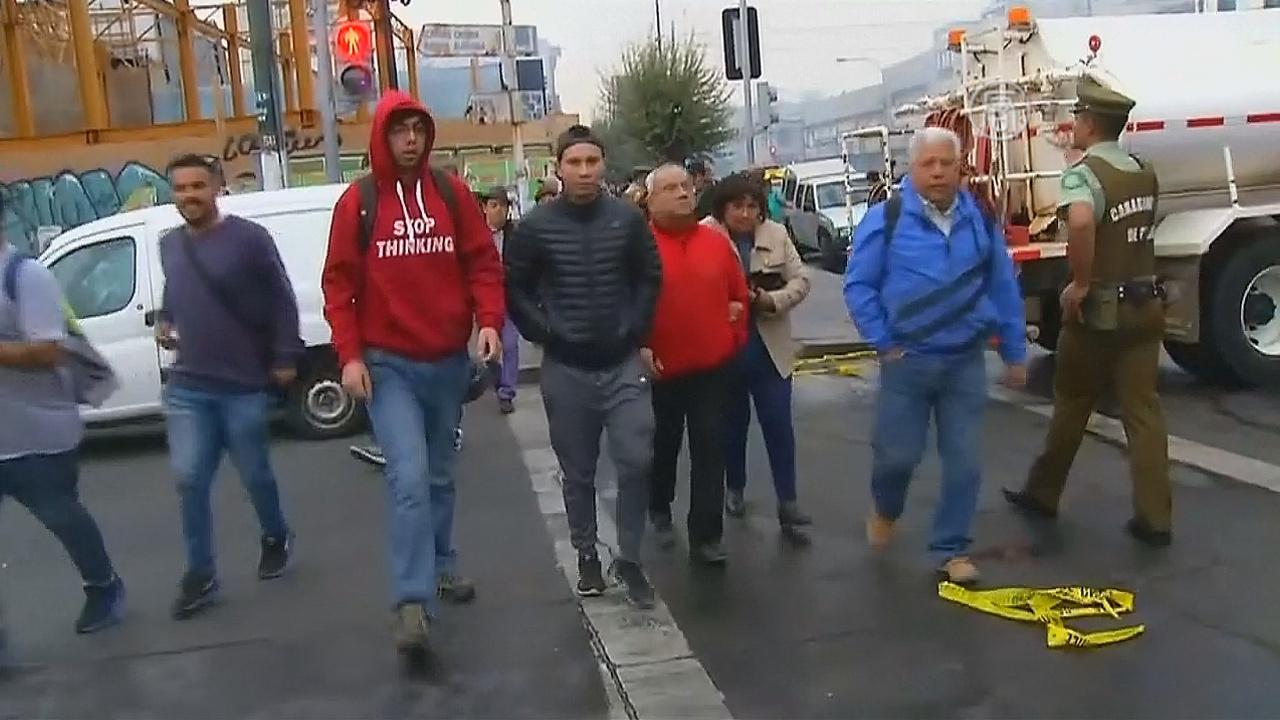 В Чили — мощное землетрясение