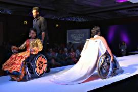 Эфиопские дизайнеры пошили наряды для инвалидов
