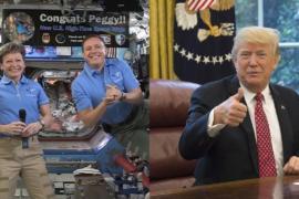 Трамп поздравил астронавтку НАСА с рекордом