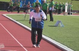 101-летняя атлетка завоевала золото на стометровке