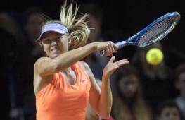 Мария Шарапова вернулась в большой теннис после 15-месячного перерыва