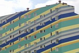 В польском городе запретили раскрашивать дома в яркие цвета