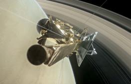 «Кассини» впервые прыгнул в кольца Сатурна