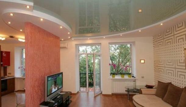 Новое видение в интерьере потолочных покрытий