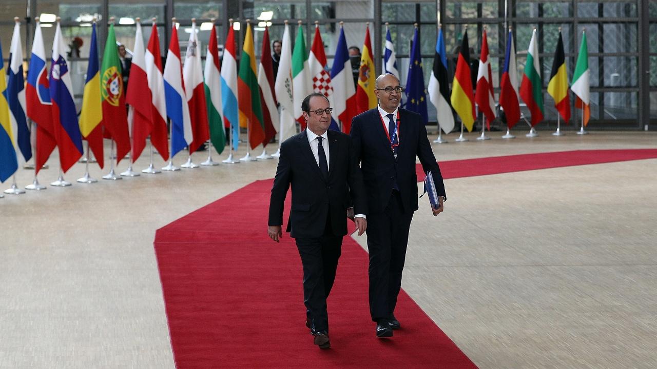 Президент Олланд посетил свой последний саммит лидеров ЕС