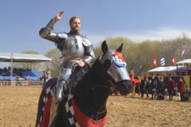 Как в Москве состязались рыцари