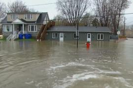 В канадской провинции Квебек — историческое наводнение