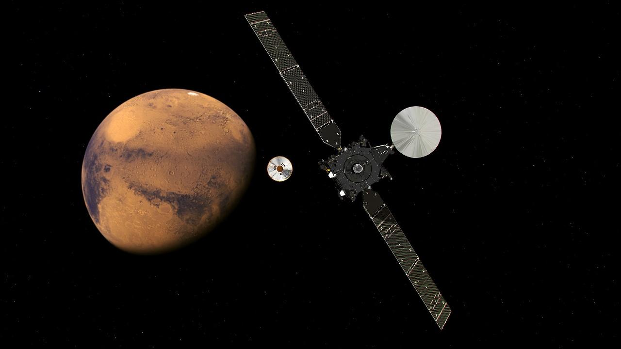 Миссия «Экзомарс» вступает во вторую стадию