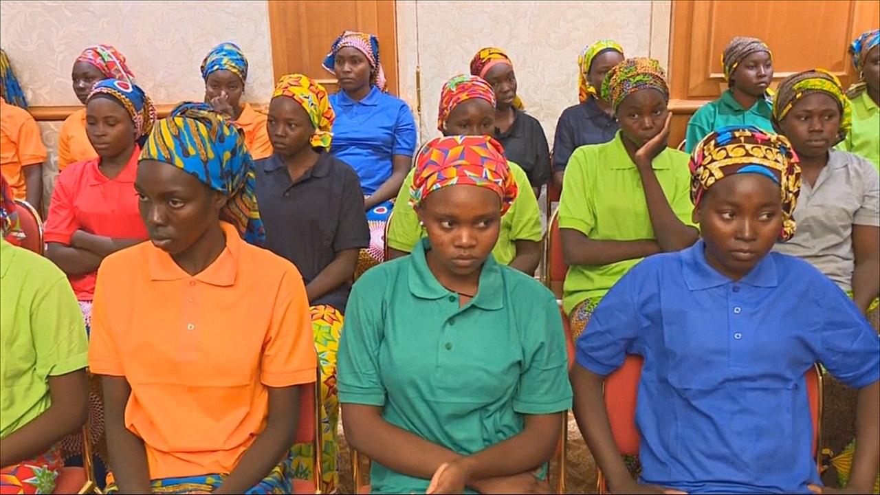 Из плена «Боко харам» освободили 82 девушки