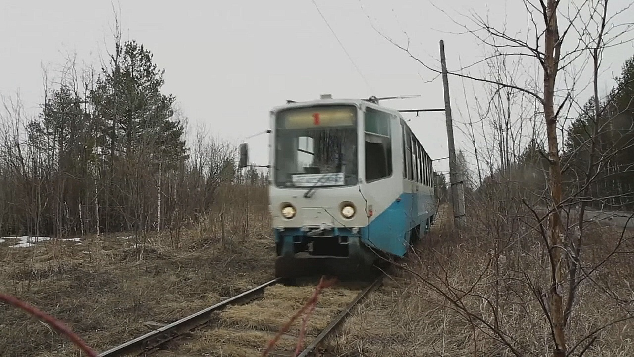 В маленьком уральском городке есть свой трамвай
