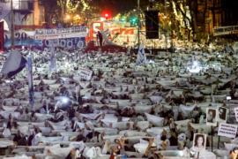 Аргентинцы выступили против безнаказанности бывших военных хунты