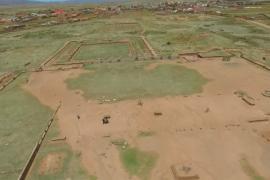 Древний город Тиуанако изучили с воздуха