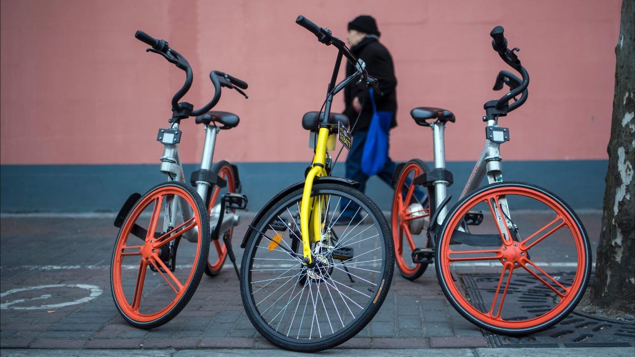 Приложения по прокату велосипедов всё популярнее в Китае